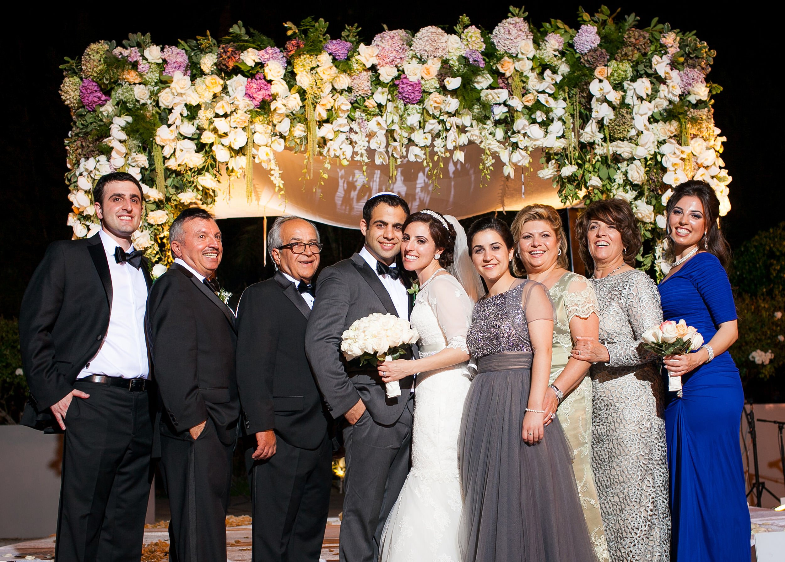 orthodox jewish family portrait