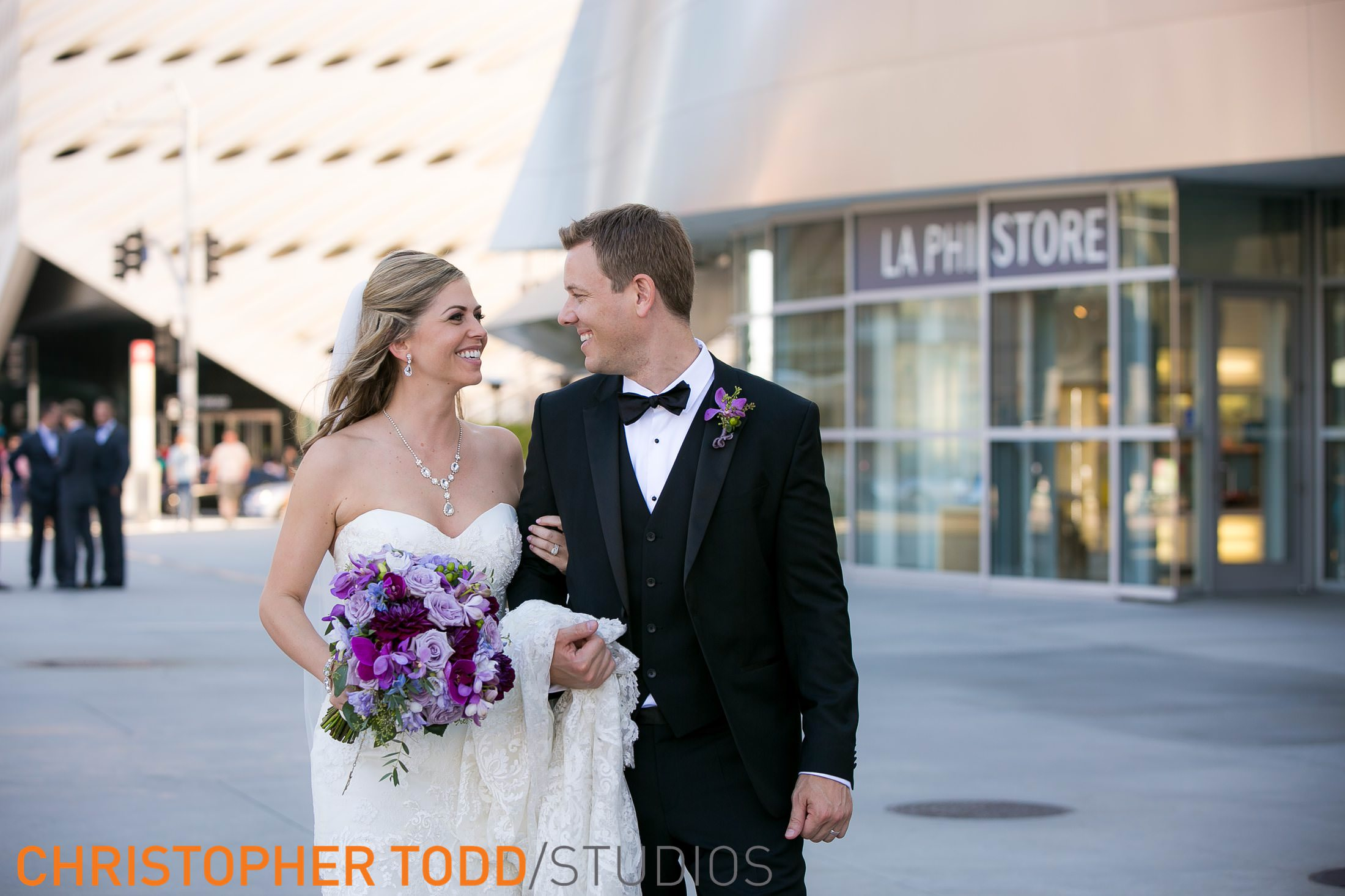 Downtown LA Wedding Photographer