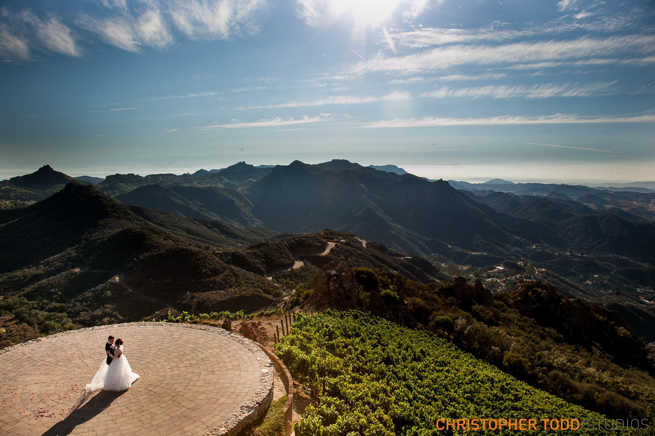 Malibu Rocky Oaks Estate Vineyard Wedding Venue