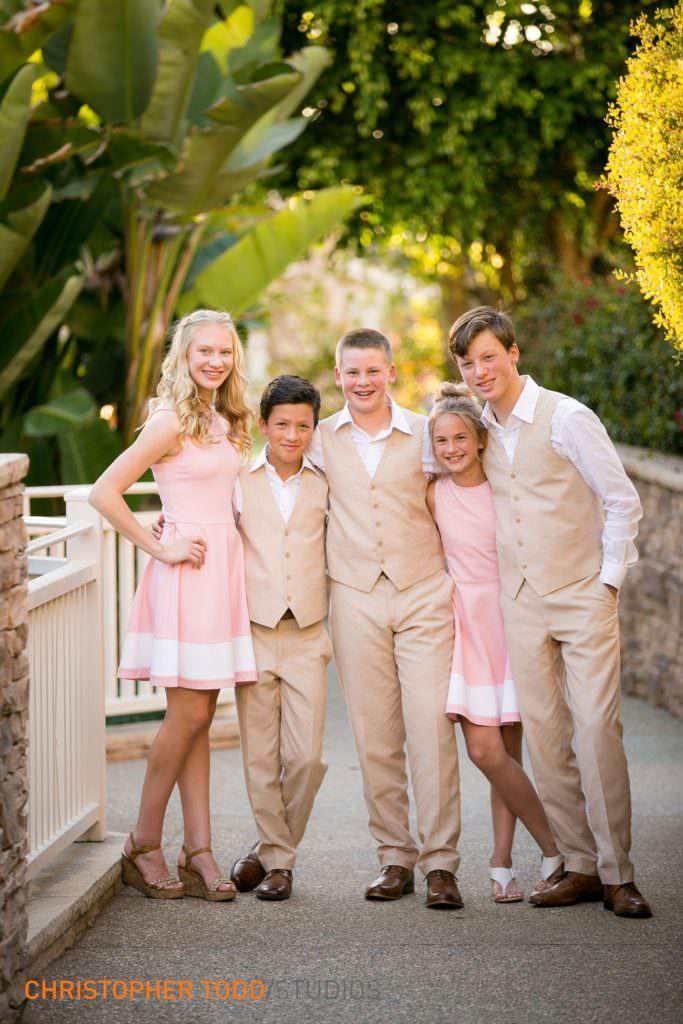 Bridal Party at Montage Laguna Beach