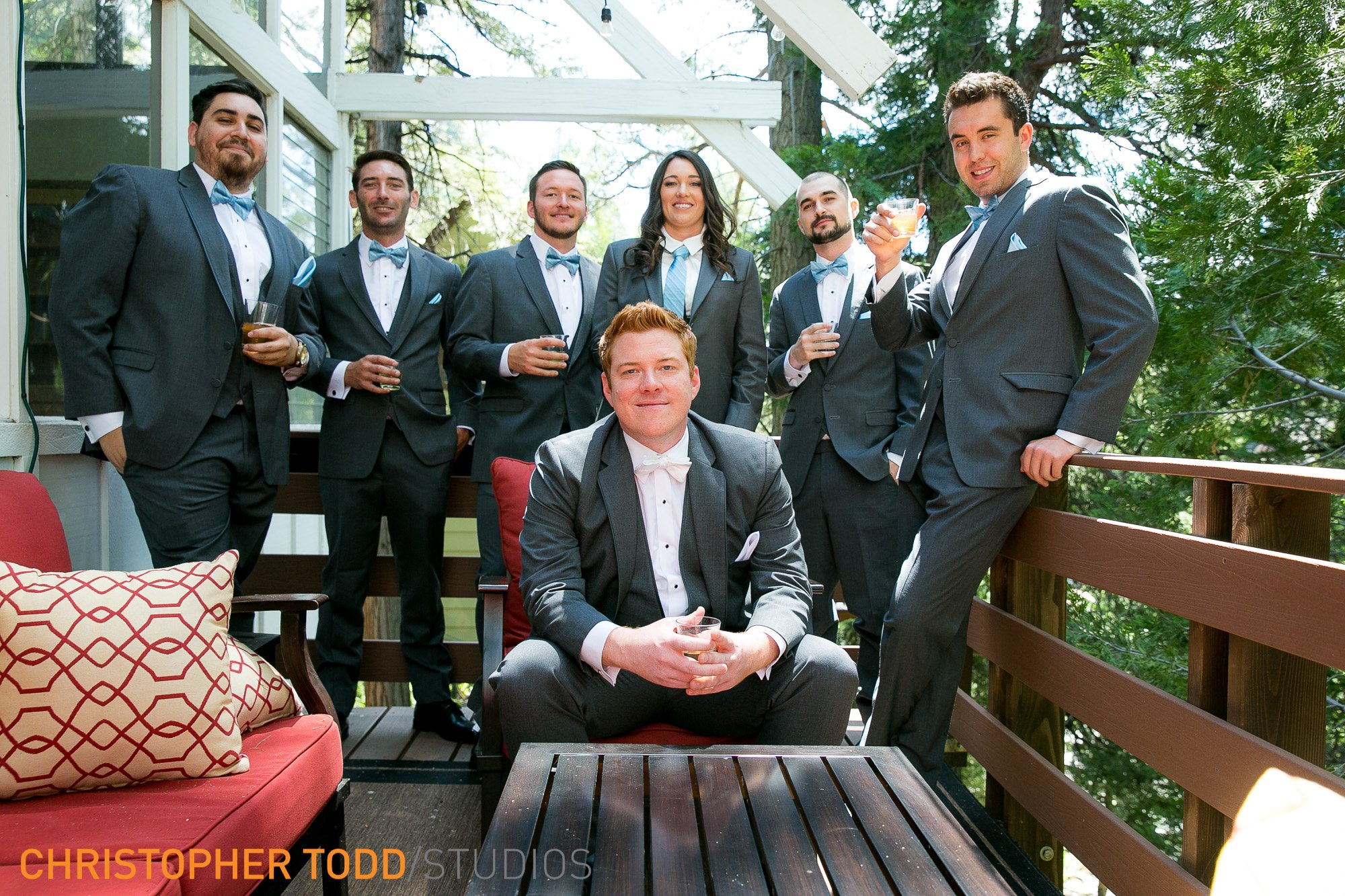 Wedding photographer lake arrowhead resort