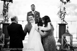 lake arrowhead resort ceremony photo
