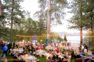 reception at lake arrowhead resort and spa