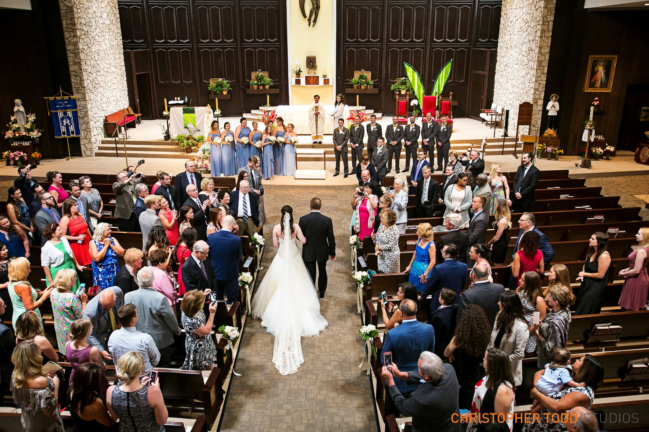 Los Angeles wedding ceremony