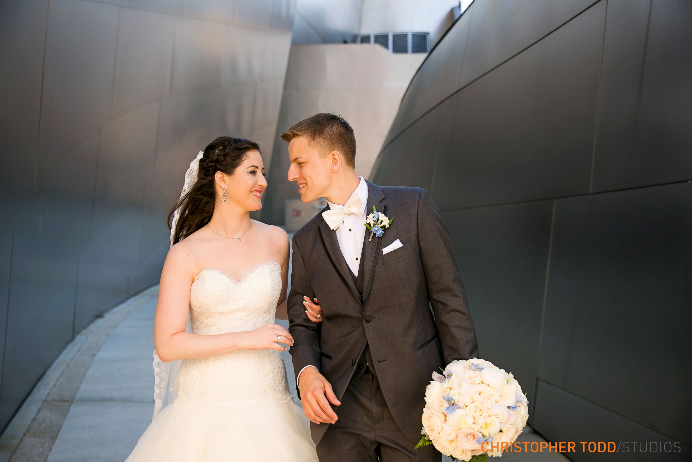 Los Angeles Disney Concert Hall Bridal Portraits