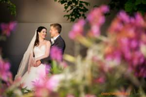 Walt Disney Concert Hall Bride and groom photo