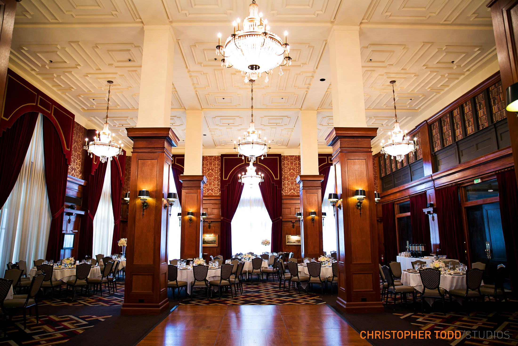 los angeles athletic club ballroom