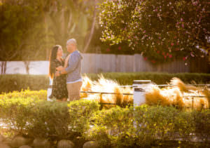 venice canals engagement photos