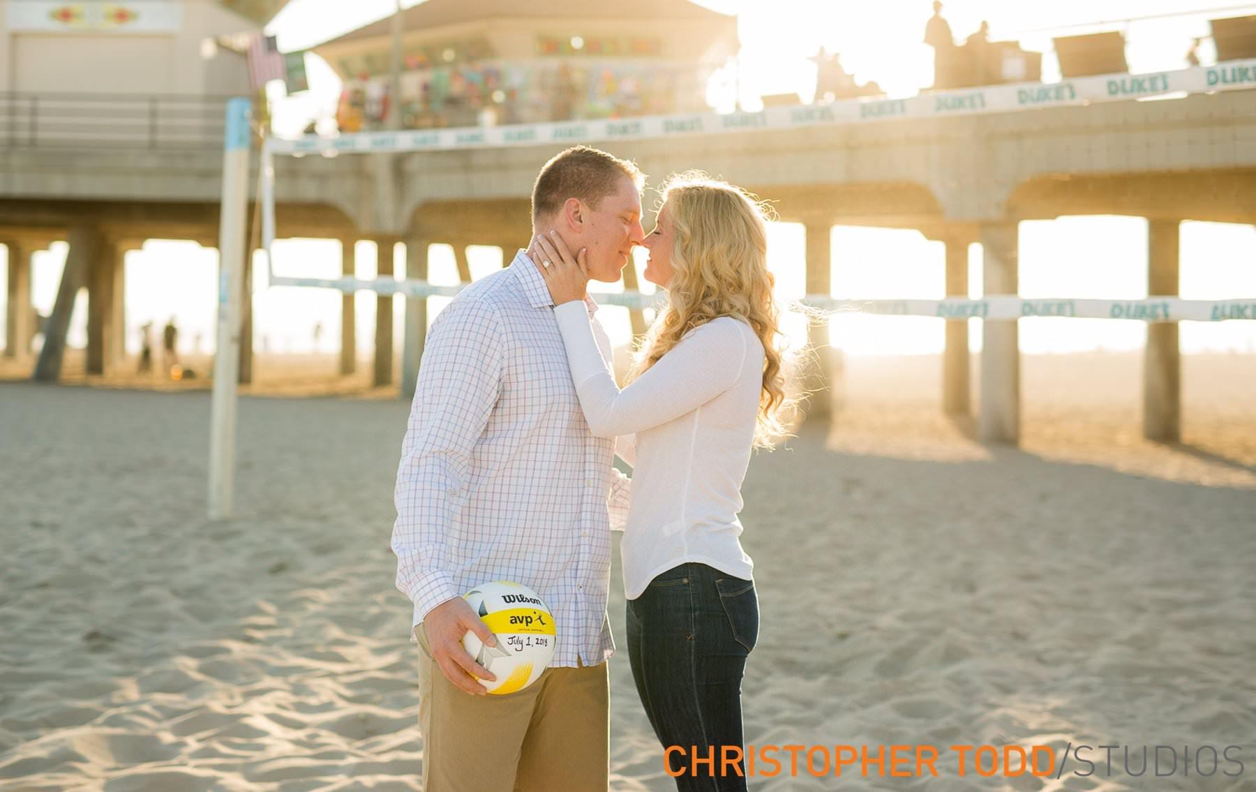 huntington-beach-engagement-photographs