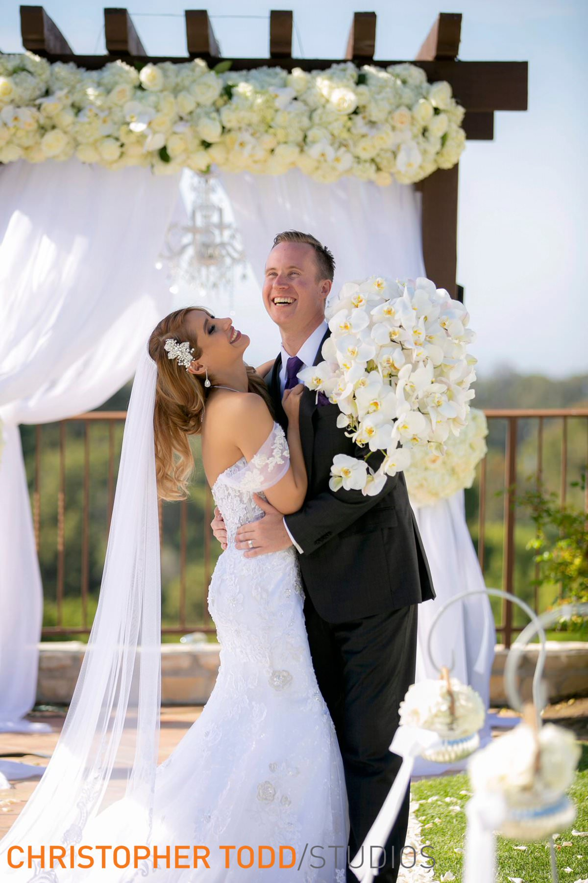 bride-&-groom-at-palos-verdes-golf-club