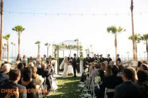 wedding-ceremony-at-waterfront-hilton