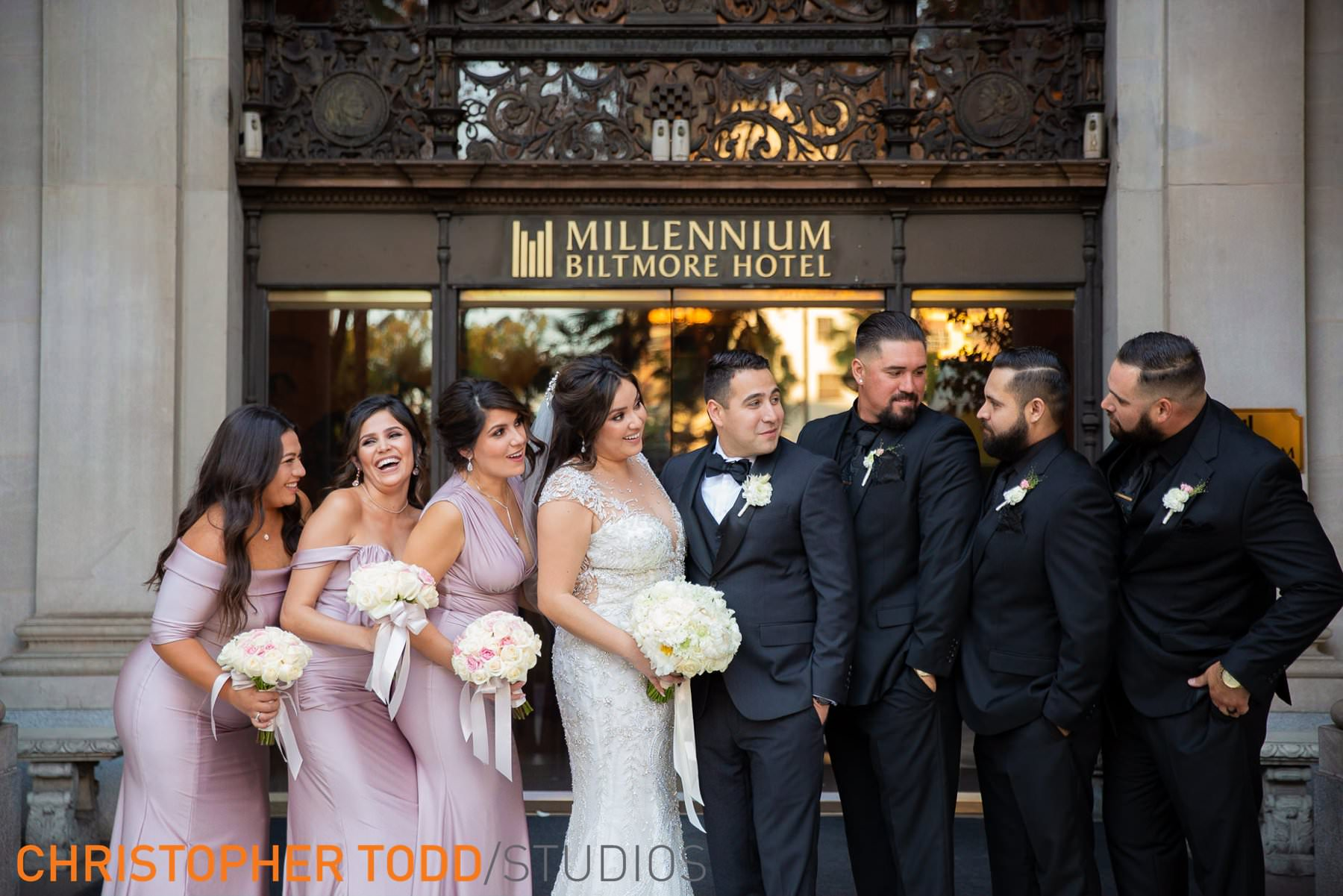 millennium-biltmore-hotel-wedding-photographs