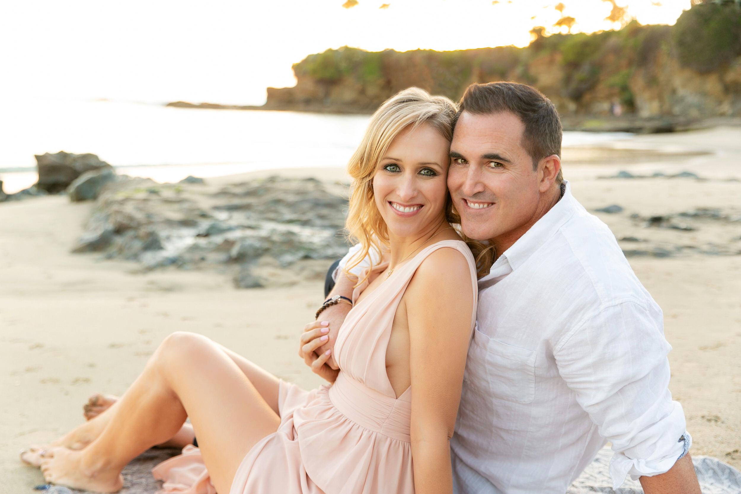Engagement Photos at Laguna Beach