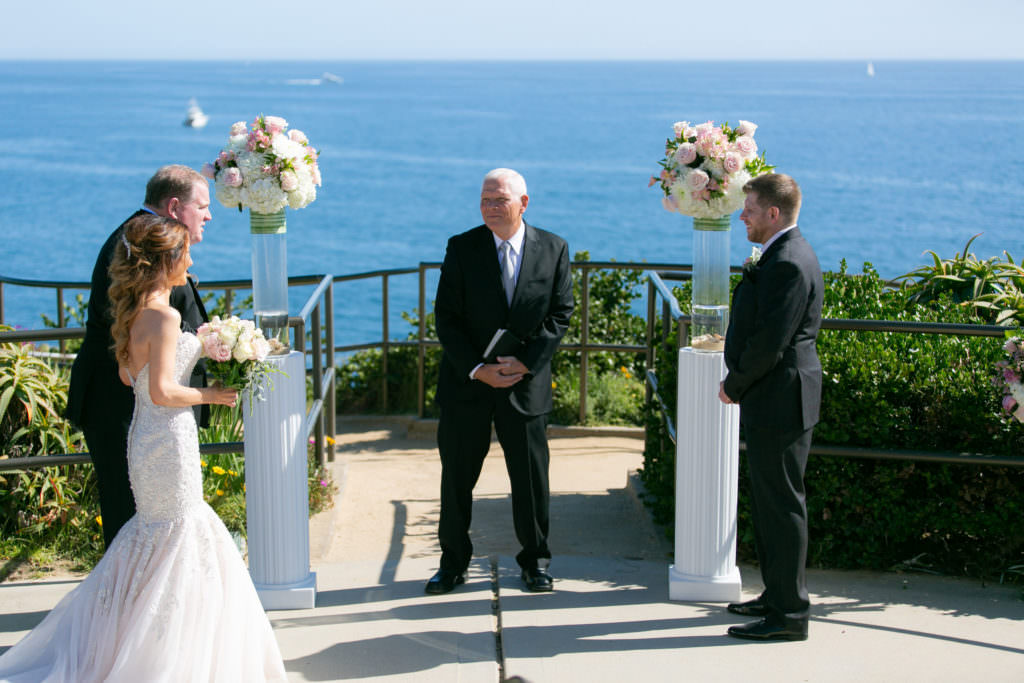 Laguna Beach micro wedding at Crescent Bay Point Park