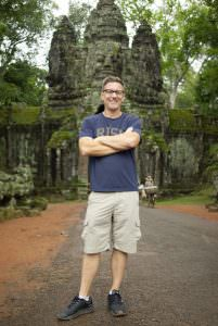 christopher todd on vacation in cambodia