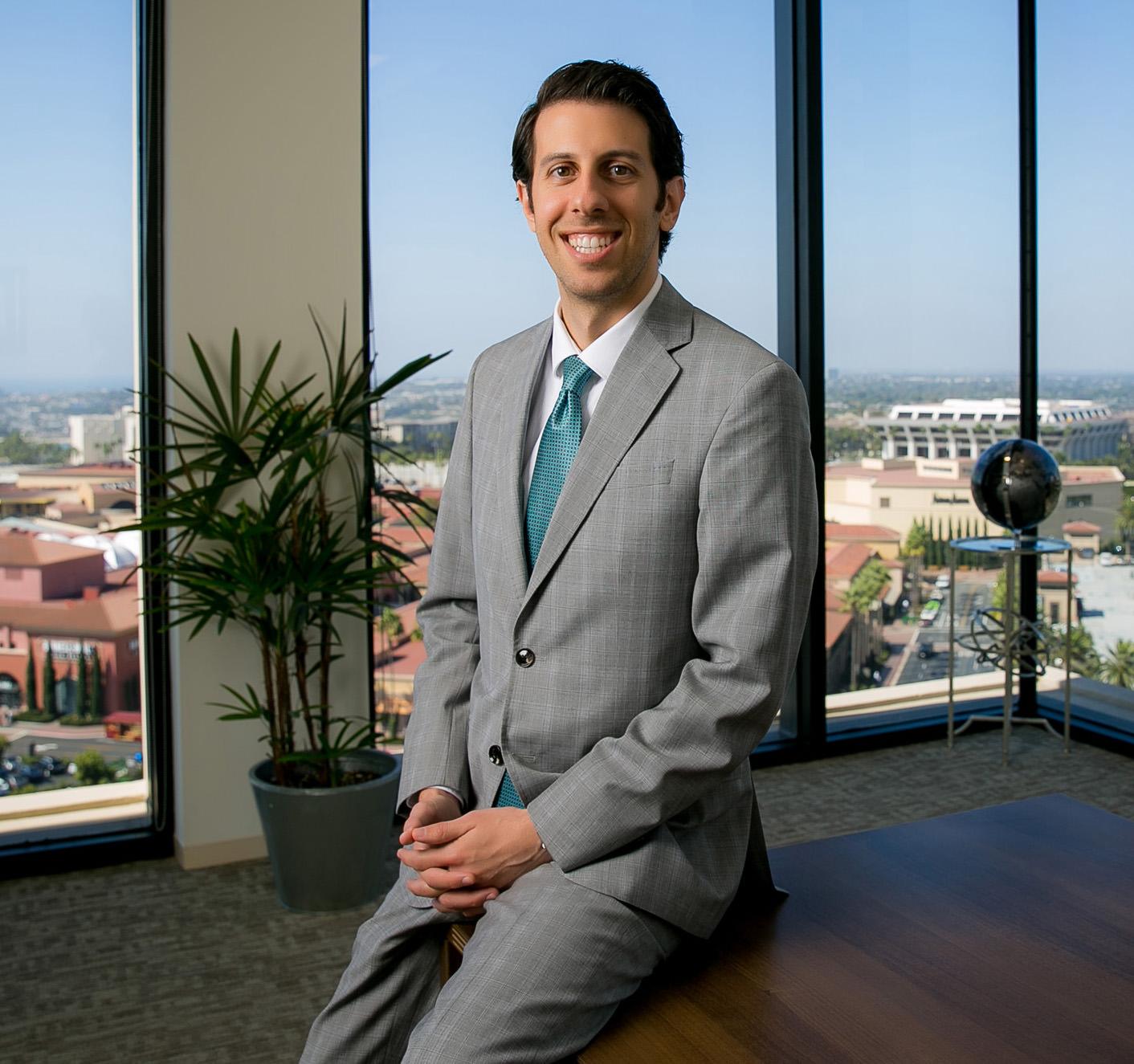 corporate executive headshot in orange county