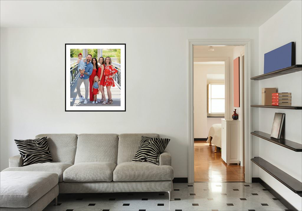 preserve memories as wall art products