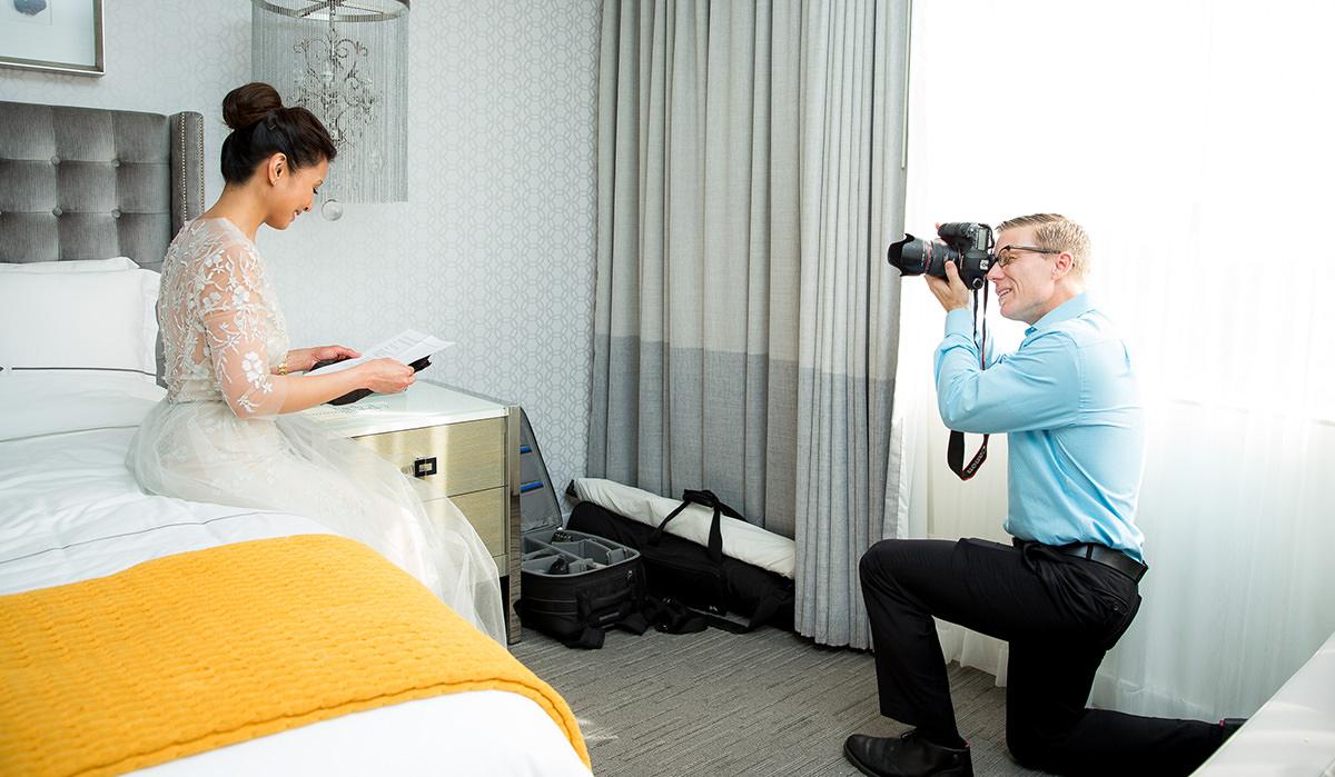 orange county wedding photographer christopher todd behind the scenes