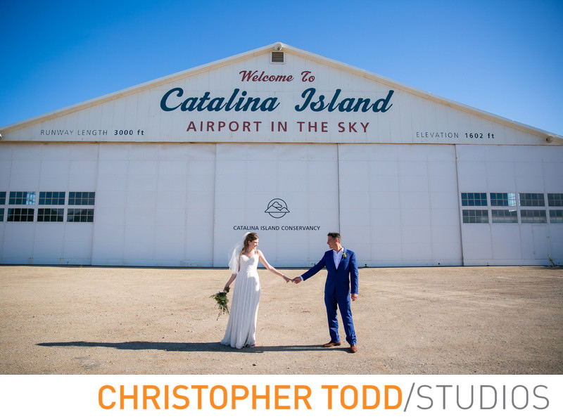 The retro styled Catalina Airport is a great spot to stop for photos, if you are headed to the west side of the island.