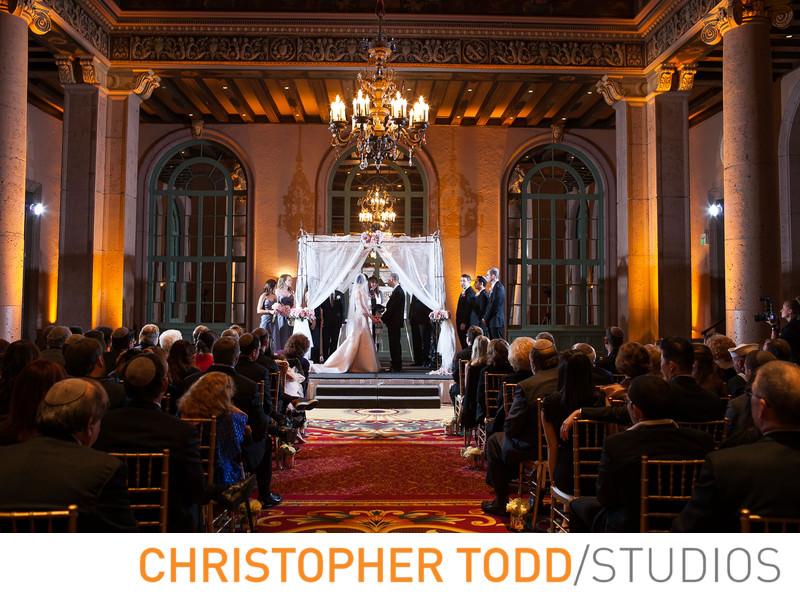 millennium-biltmore-hotel-wedding-ceremony