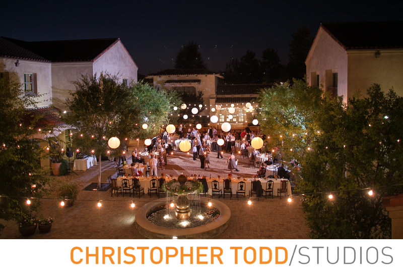serra-plaza-courtyard-wedding-reception