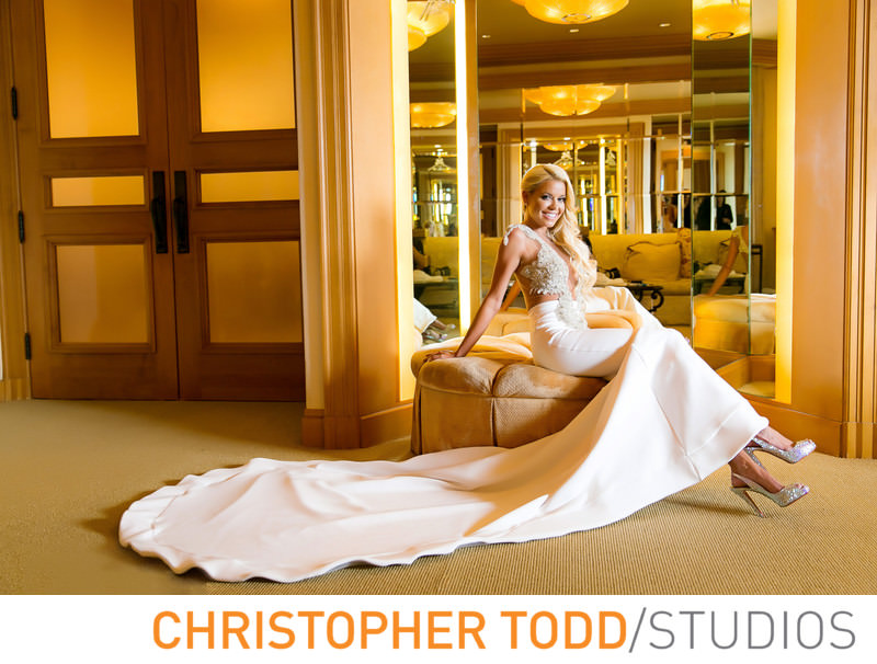 wedding-dress-pelican-hill-resort